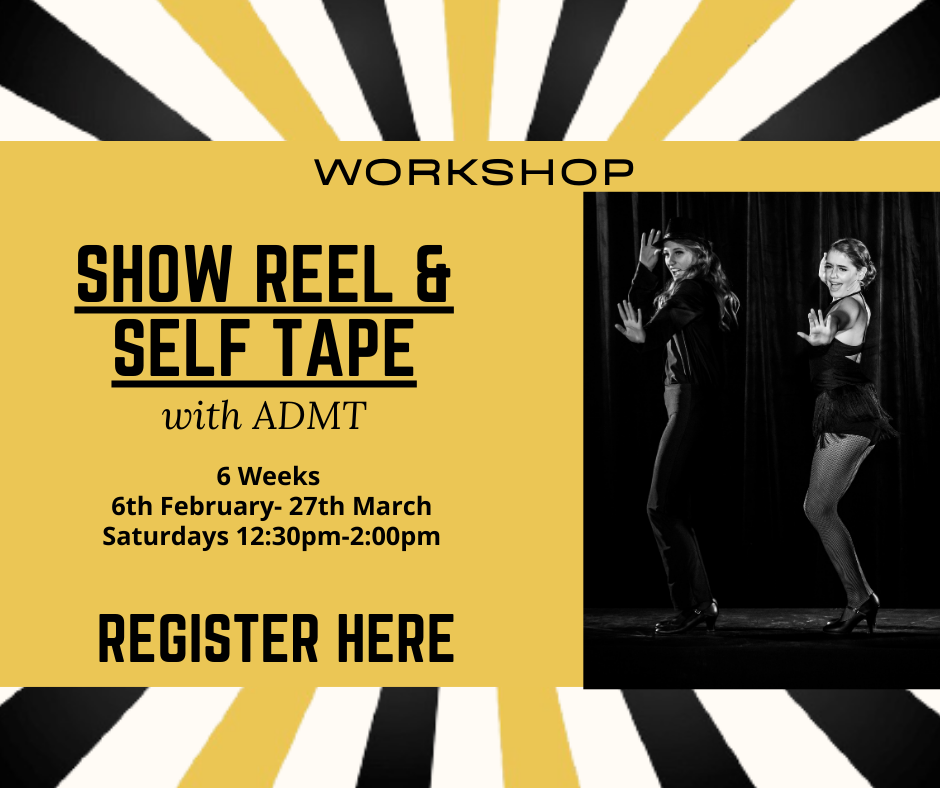 Make your own showreel or self tape