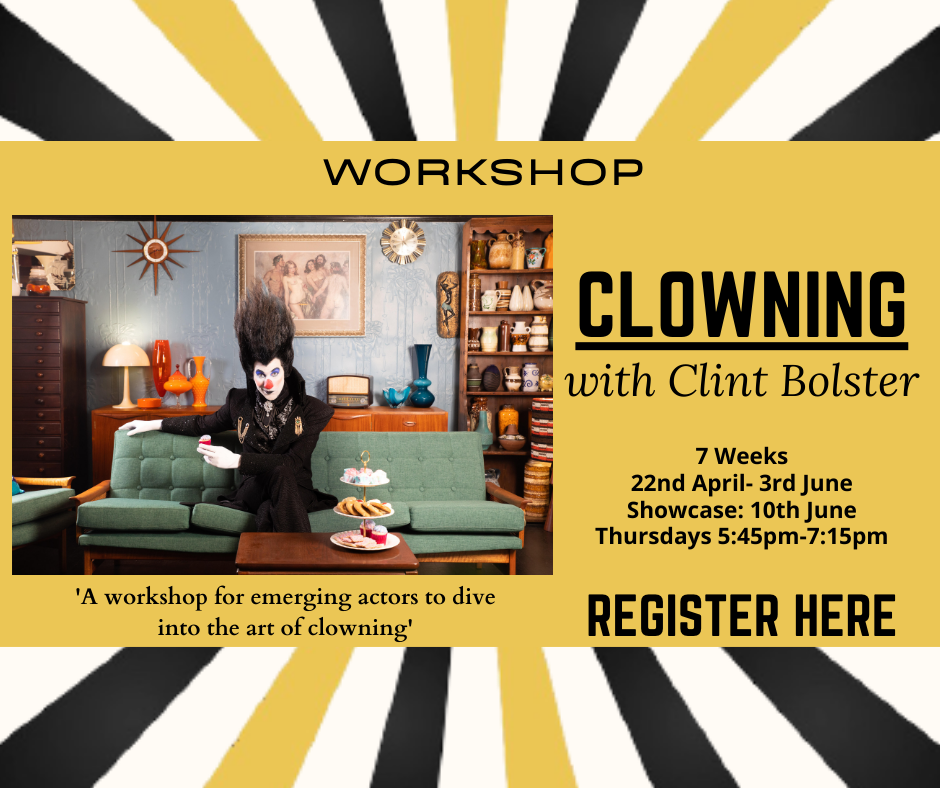 Clowning workshop with Clint Bolster